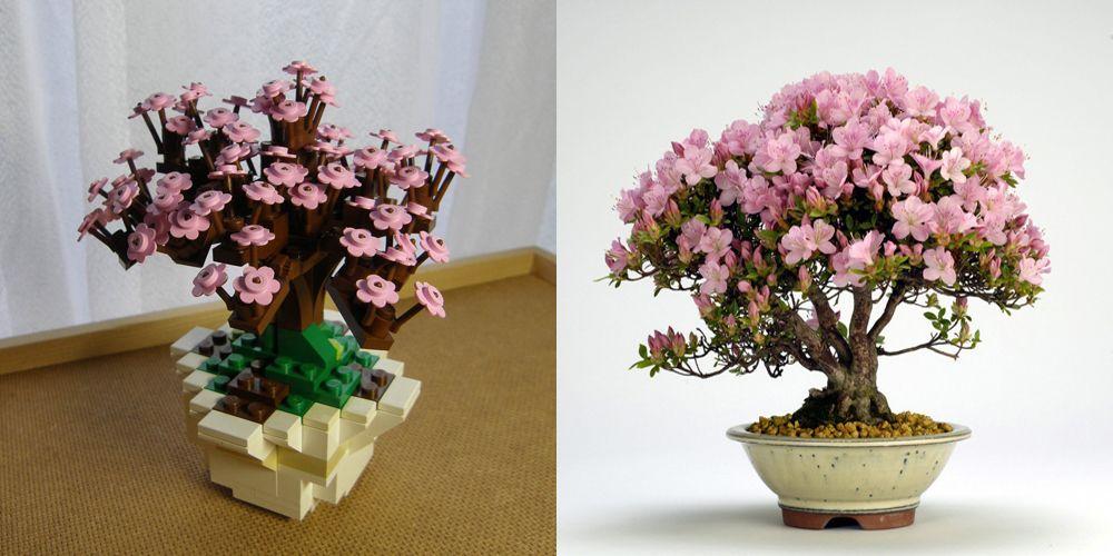 Lego Bonsai Tree Azalea Bonsai Tree Lego Lego Tree