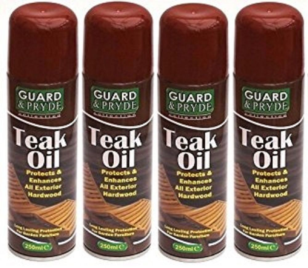 X Teak Oil Exterior Decking Spray Hardwood Softwood Garden
