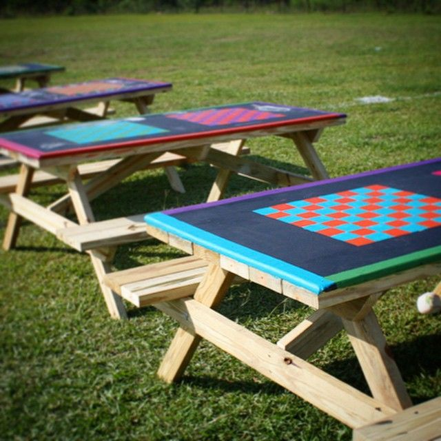 Playgrounds Arent Just For Little Kids Make It Fun For Everyone - Playground picnic table