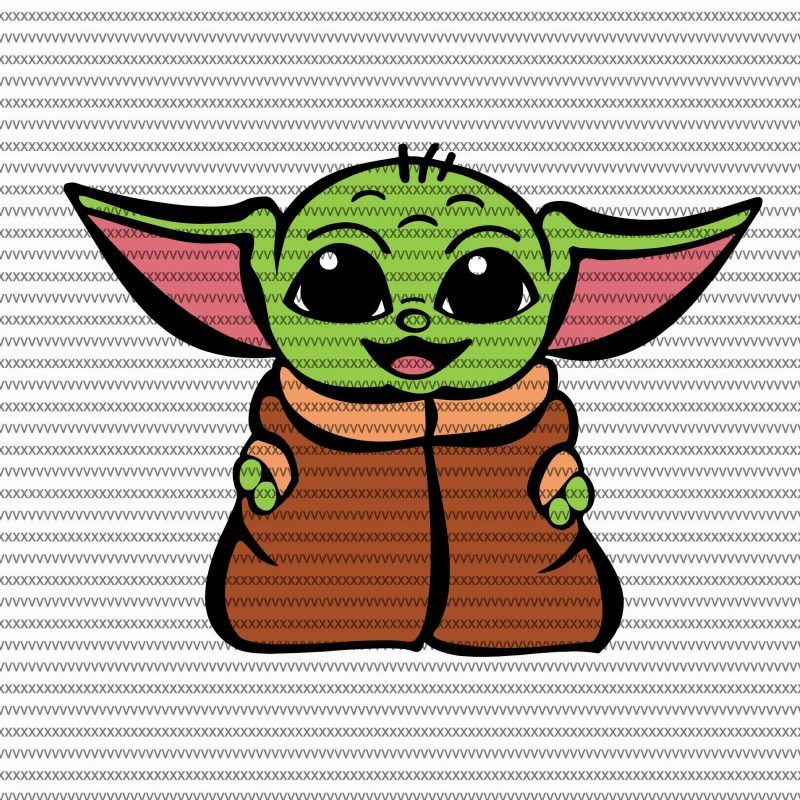 Baby Yoda Coloring Pages Cute