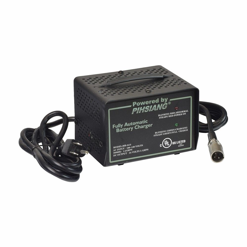 Order the 24 Volt 3 0 Amp XLR MB-24/3 Battery Charger for