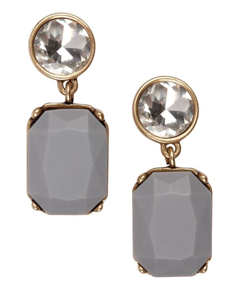 Add glam to your outfit with this pair of Banana Republic earrings (R399,95). Available at Stuttafords