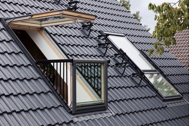 dachfenster cabrio von velux  dachfenster