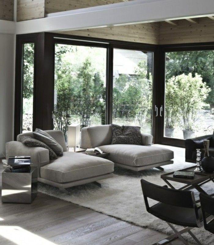 40 id es en photos comment incorporer l 39 ambiance zen salons living pinterest d co salon - Deco zen salon ...