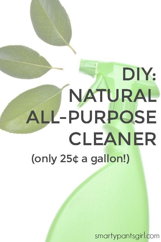 DIY: Natural All Purpose Cleaner