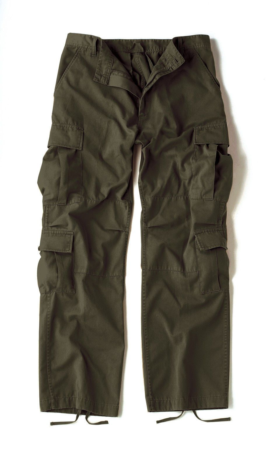 64159ac0ba Vintage Olive Drab Paratrooper Cargo Pants BDU XS-3XL in 2019 | My ...