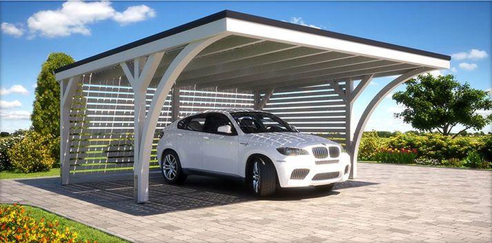 L Independance En Plus Pour Votre Carport Solarwatt Modules Solaires Et Systemes Photovoltaiques Dessins Carport Abri Pour Voiture Pergola Abri Exterieur