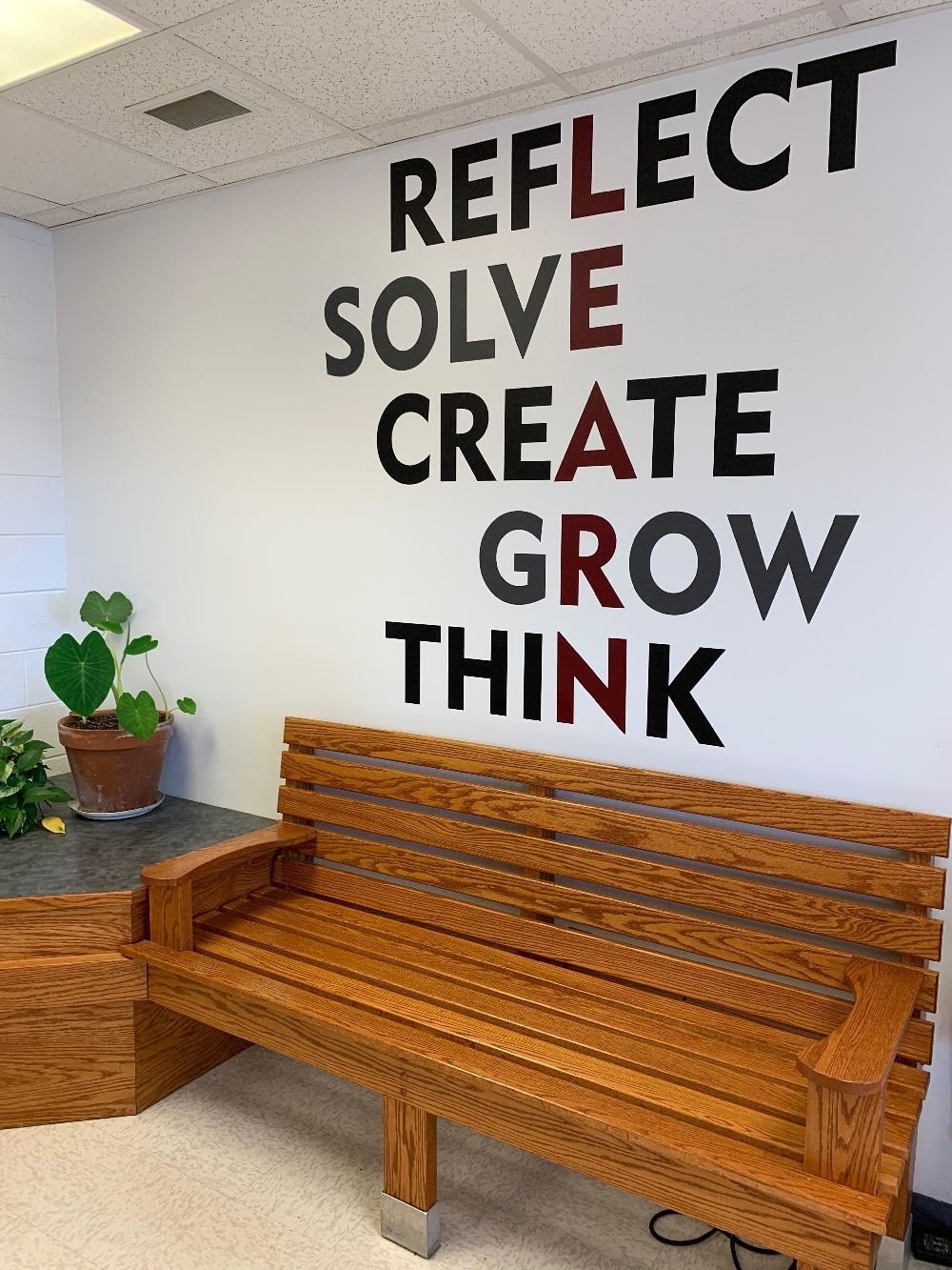 Dress Up Otherwise Boring School Walls With Our Easy To Install Wall Decals Browse Preview And Design What You Are Looki School Classroom School Vinyl Quotes