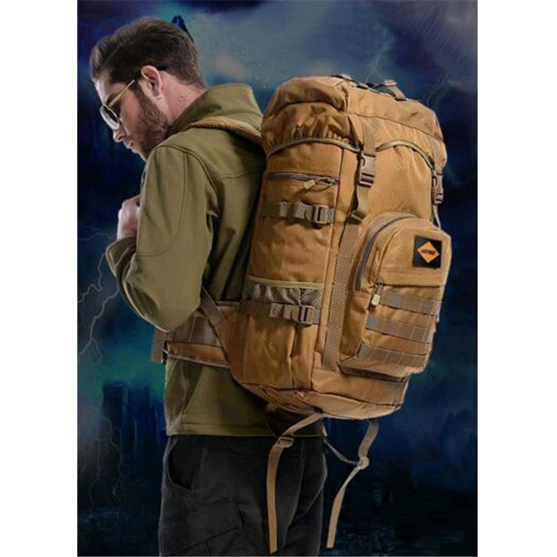 Men's bags nylon high-end backpack students School bag waterproof ...