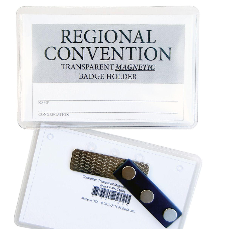 Magnetic Badge Holder   Int'l Conv  Souvenir ideas   Badge holders