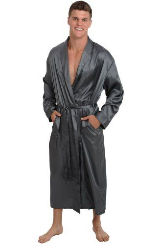 Del Rossa Men s Long Lightweight Satin Bathrobe Robe for only  34.99 You  save   25.00 (42%) 23d053190