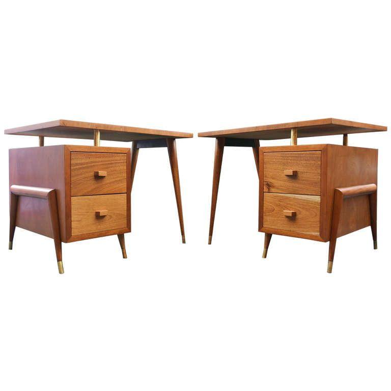 Pair Of Eugenio Escudero Desks | Muebles deco y Deco