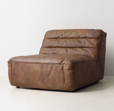 Chelsea Leather Lounger Armchair