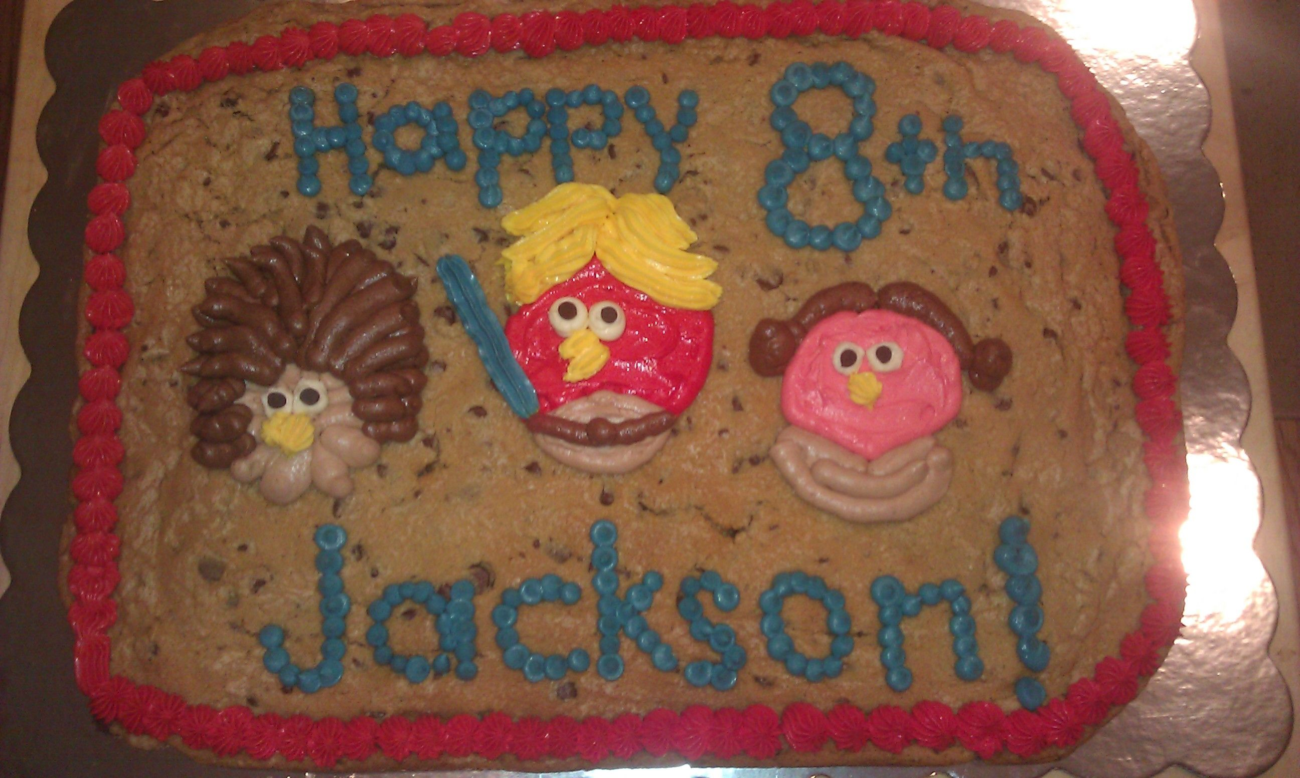 Angry Birds Star Wars Cookie Cake