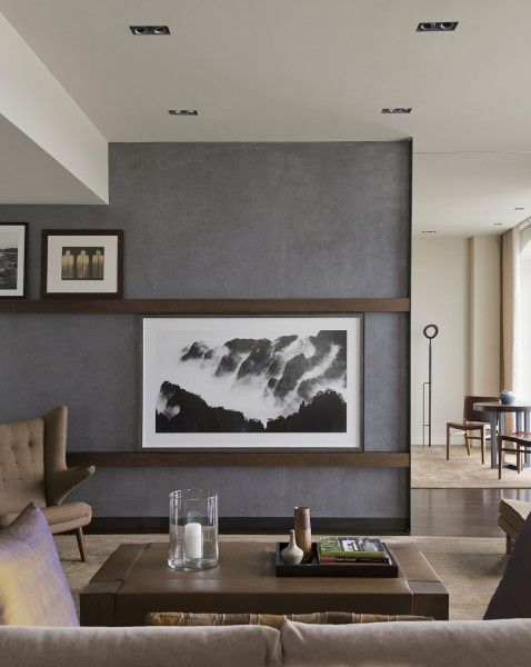 Sliding art to hide tv apartment dream pinterest hidden tv living room tv and framed tv for Hiding a tv in the living room