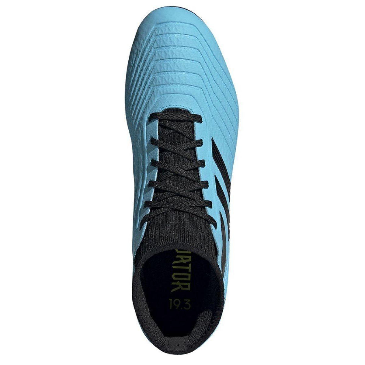 Buty Pilkarskie Adidas Predator 19 3 Ag M F99990 Niebieskie Niebieskie Football Boots Football Shoes Adidas Predator