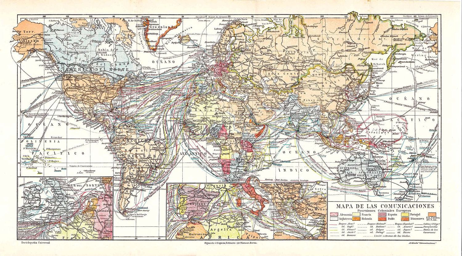 s antique world map communications  maritime trade routes. s antique world map communications  maritime trade routes