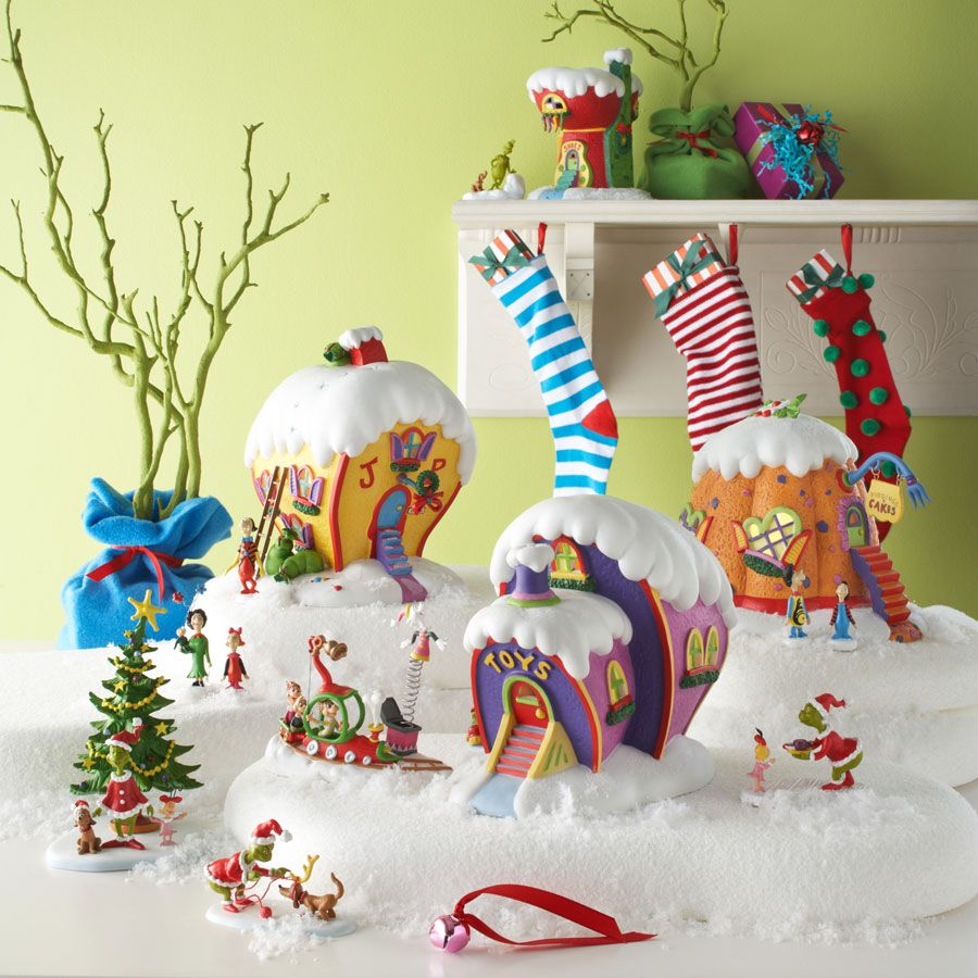 whoville Christmas village Google Search Whoville