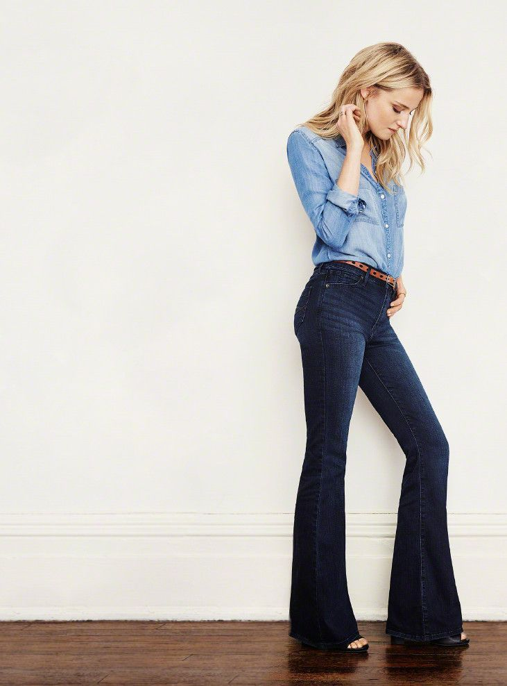 Bootcut Jeans | Vintage inspired, Abercrombie fitch and Marketing