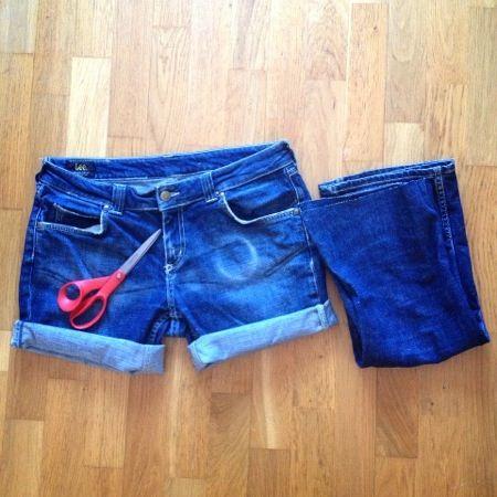 Jean shorts! #diy #clothes #jean #kafferepet #cut #tutorial #kafferepet #kafferep
