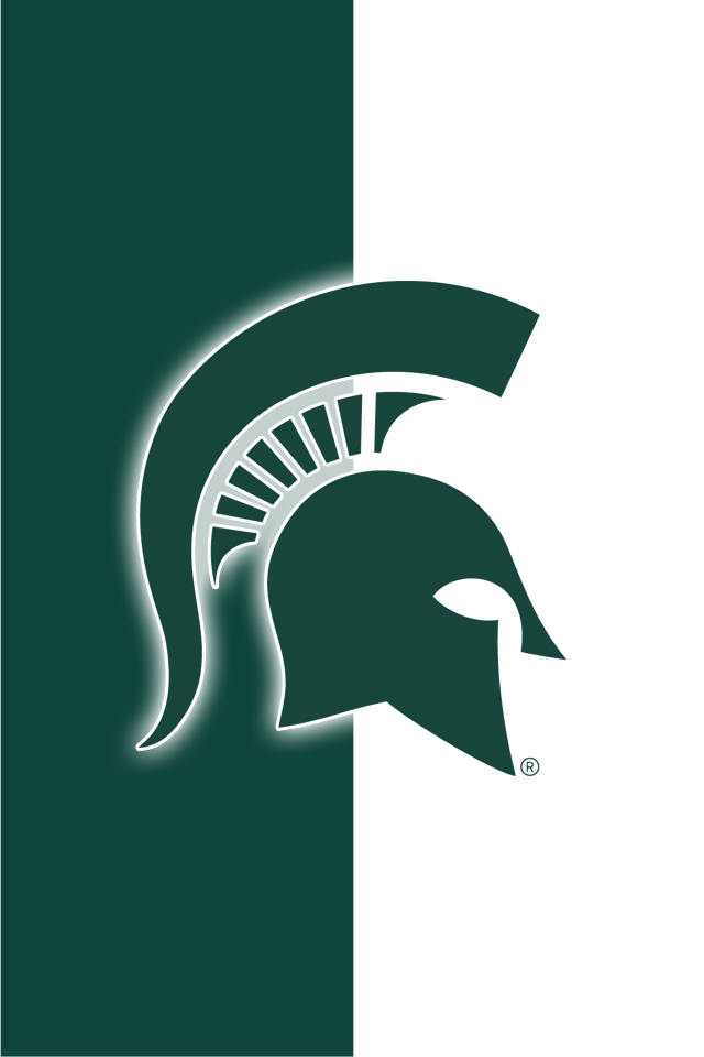 Get A Set Of 12 Officially Ncaa Licensed Michigan State Spartans Iphone Wallpapers Sized Precisely For Any Michigan State Michigan State Spartans Team Emblems