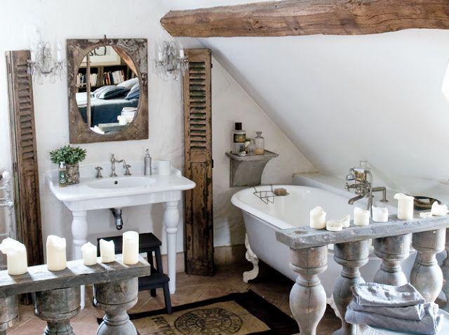 Bagno Retrò ~ Bagno vintage bathrooms beams bath and woods