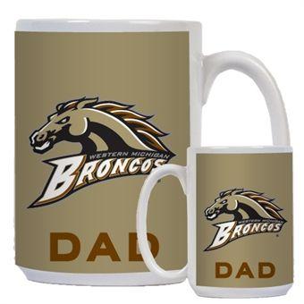 b92102d0a48 Full Color White Mug 15oz 'Broncos' | Mens Bronco Gear | Broncos ...