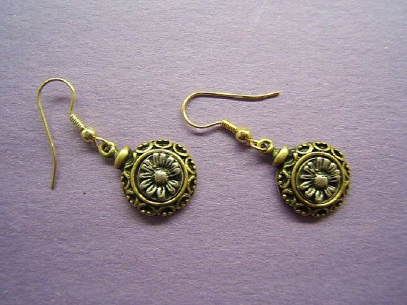 Christmas gift idea Floral Earring earing flower by DesignsByMaral