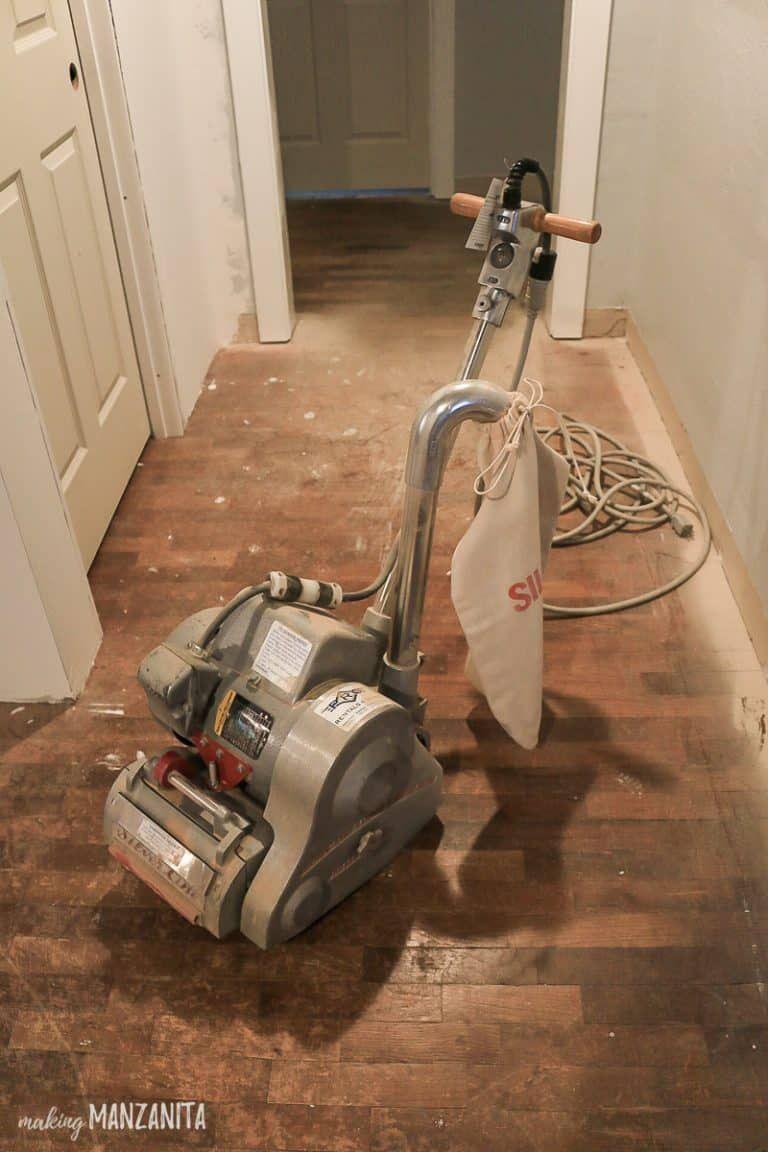Hardwood Floor Refinishing in 2020 Refinishing hardwood