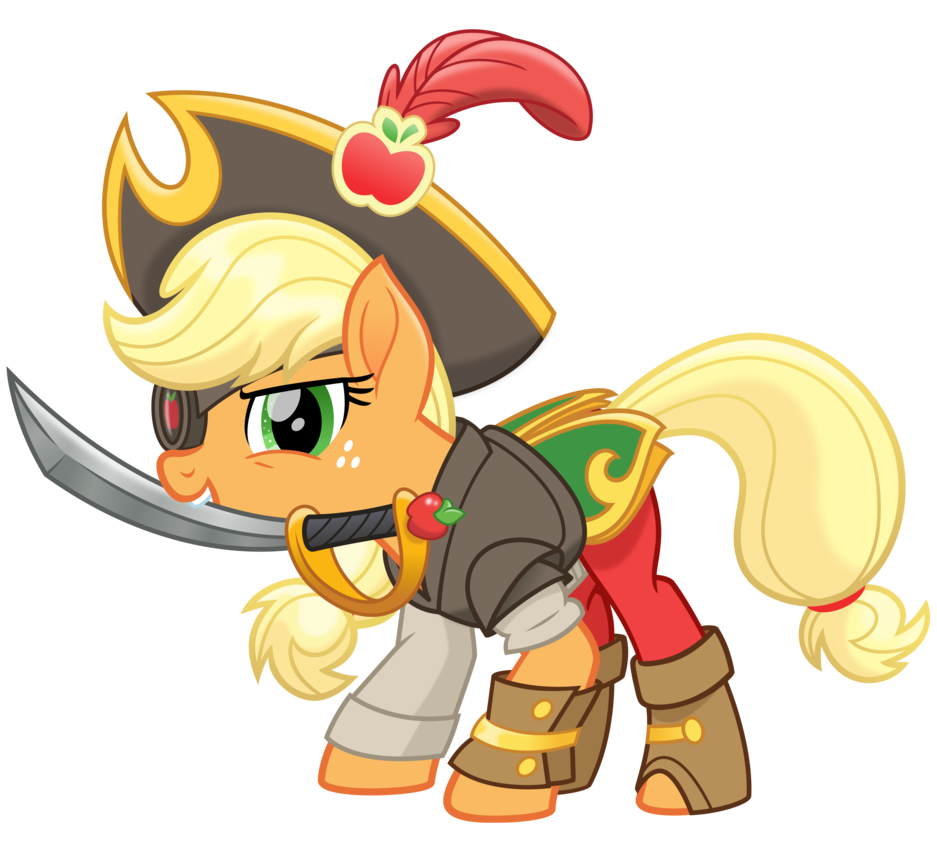 MLP Movie Spoiler - The Dread Pirate Applejack! by cheezedoodle96 ...