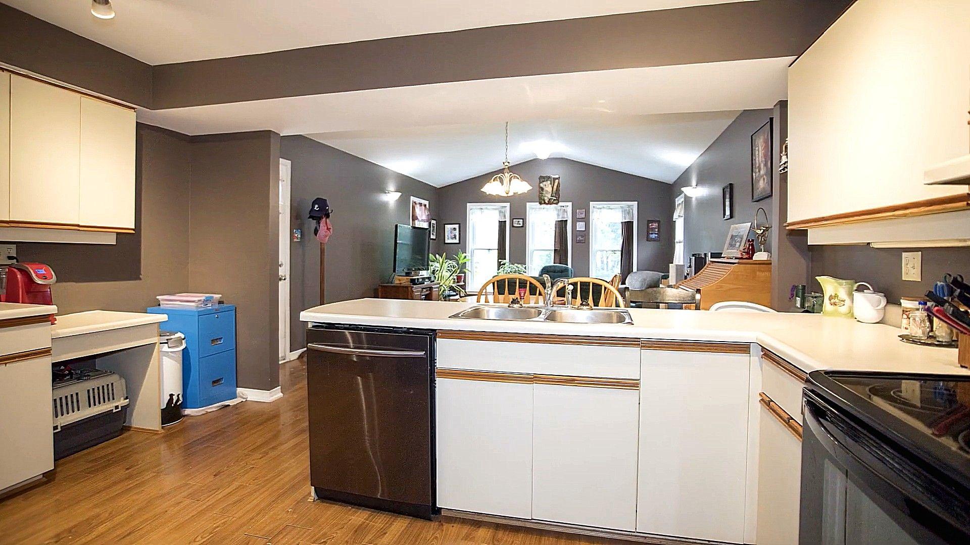 Kitchen Design Open Concept To Family Room Design Ideas