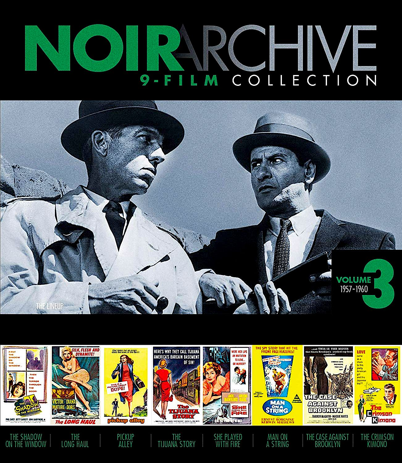 Noir Archive Volume 3 1957 1960 9 Film Collection The Shadow On