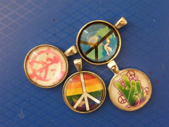 Peace sign pendants peace sign glass case pendants hippie style peace sign pendants peace sign glass case pendants hippie style lgbt gifts birthday gifts unisex gifts coachella jewelry audiocablefo