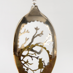 cat in a tree – spoon art, Anomali. South African jewelers
