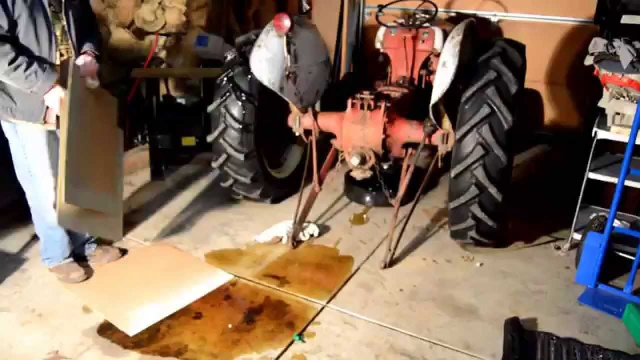 Ford 8n Hydraulic Lift Arm Removal Rebuild Tractors Ford