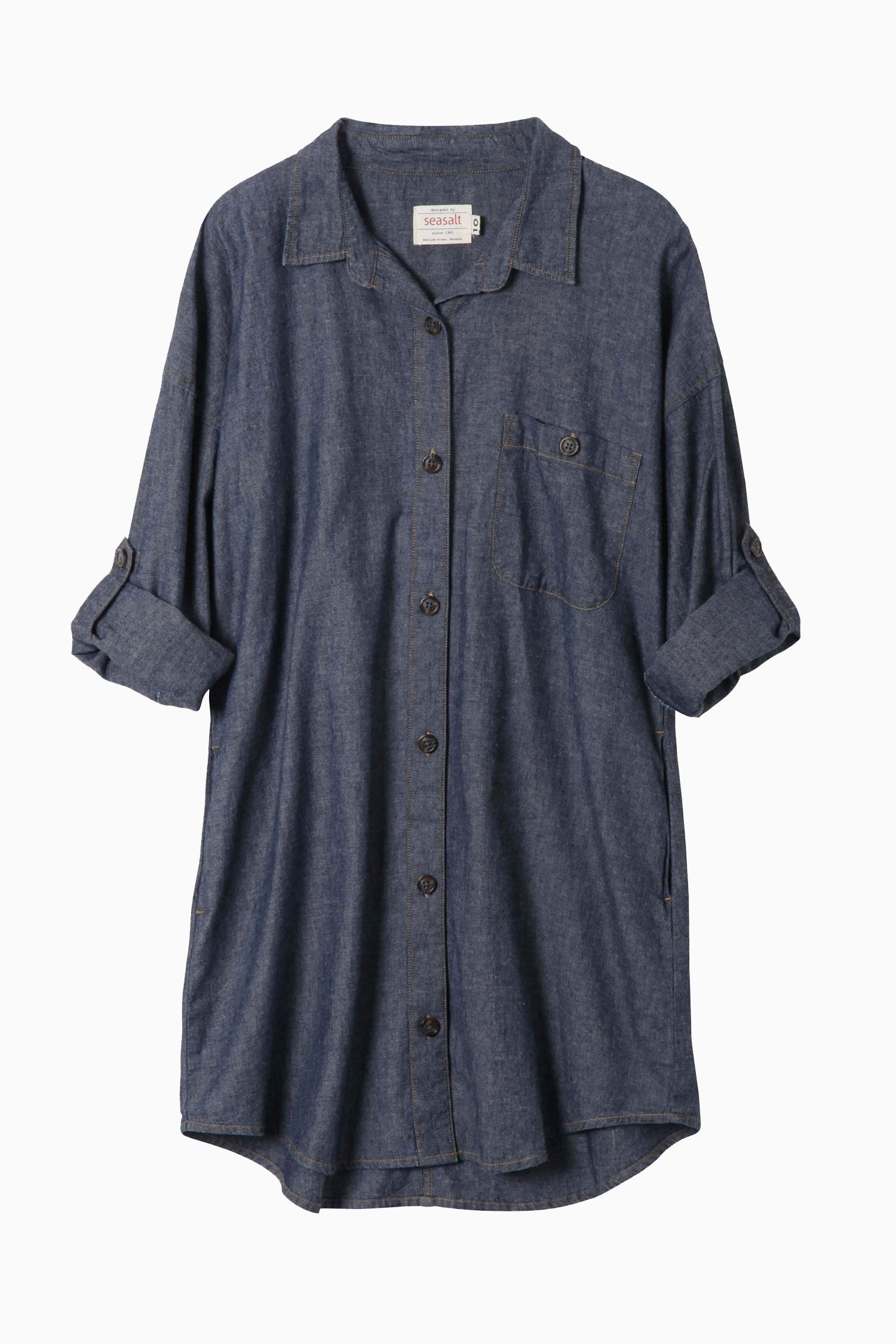 Product image fashion pinterest indigo tunics and clothing