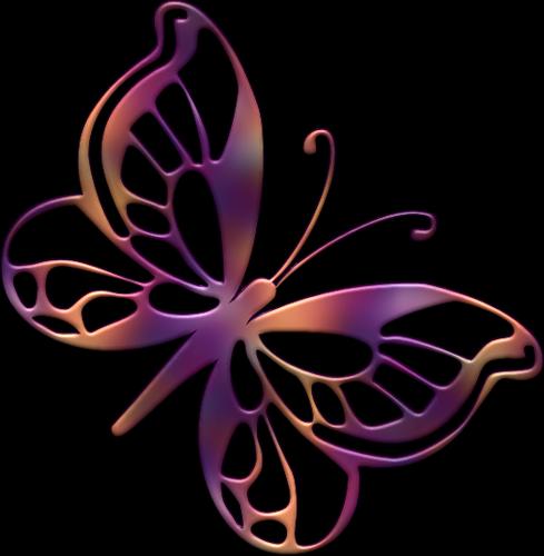 Clipart butterflies | Скрапбукинг, Бабочки