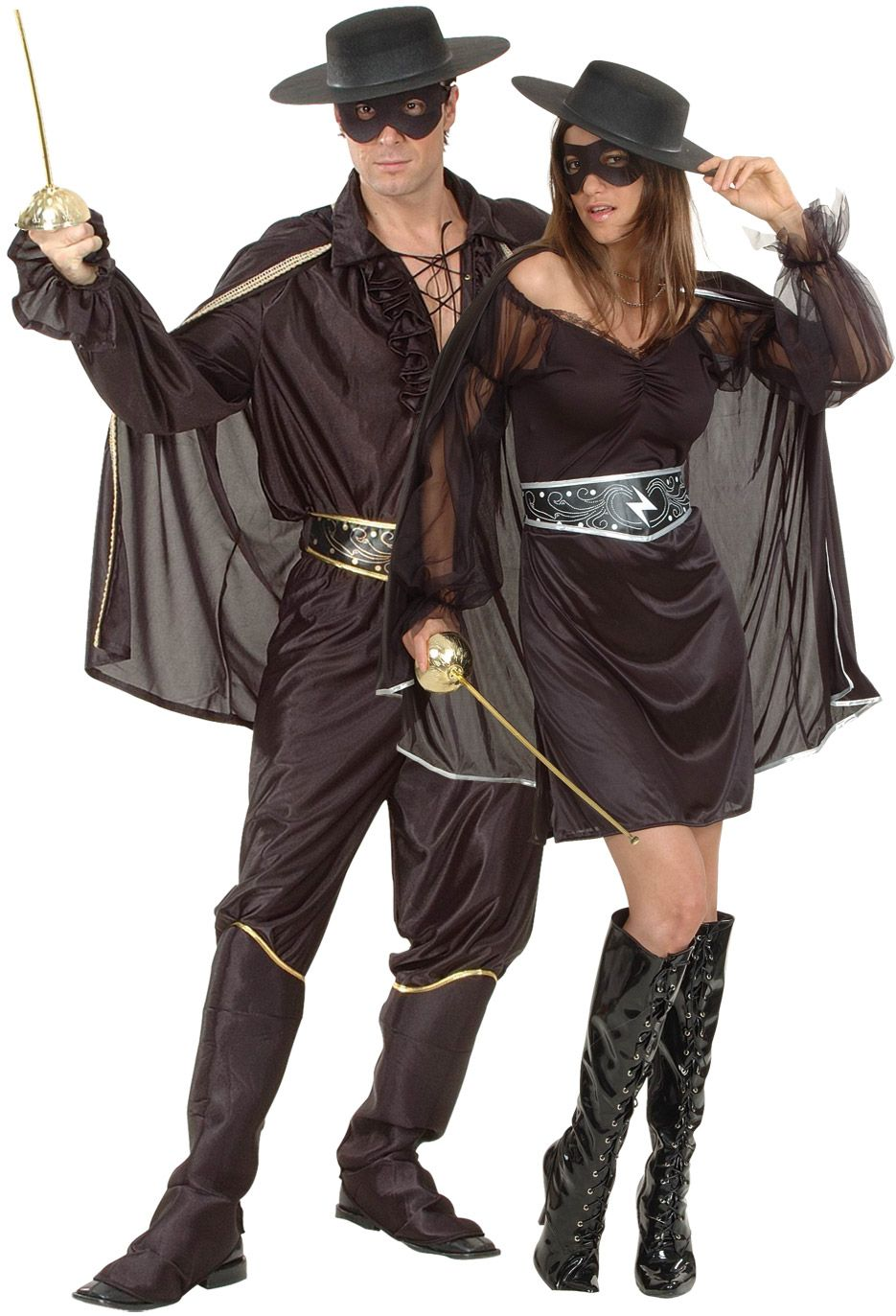 D guisement couple justicier costumes - Deguisement couple halloween ...