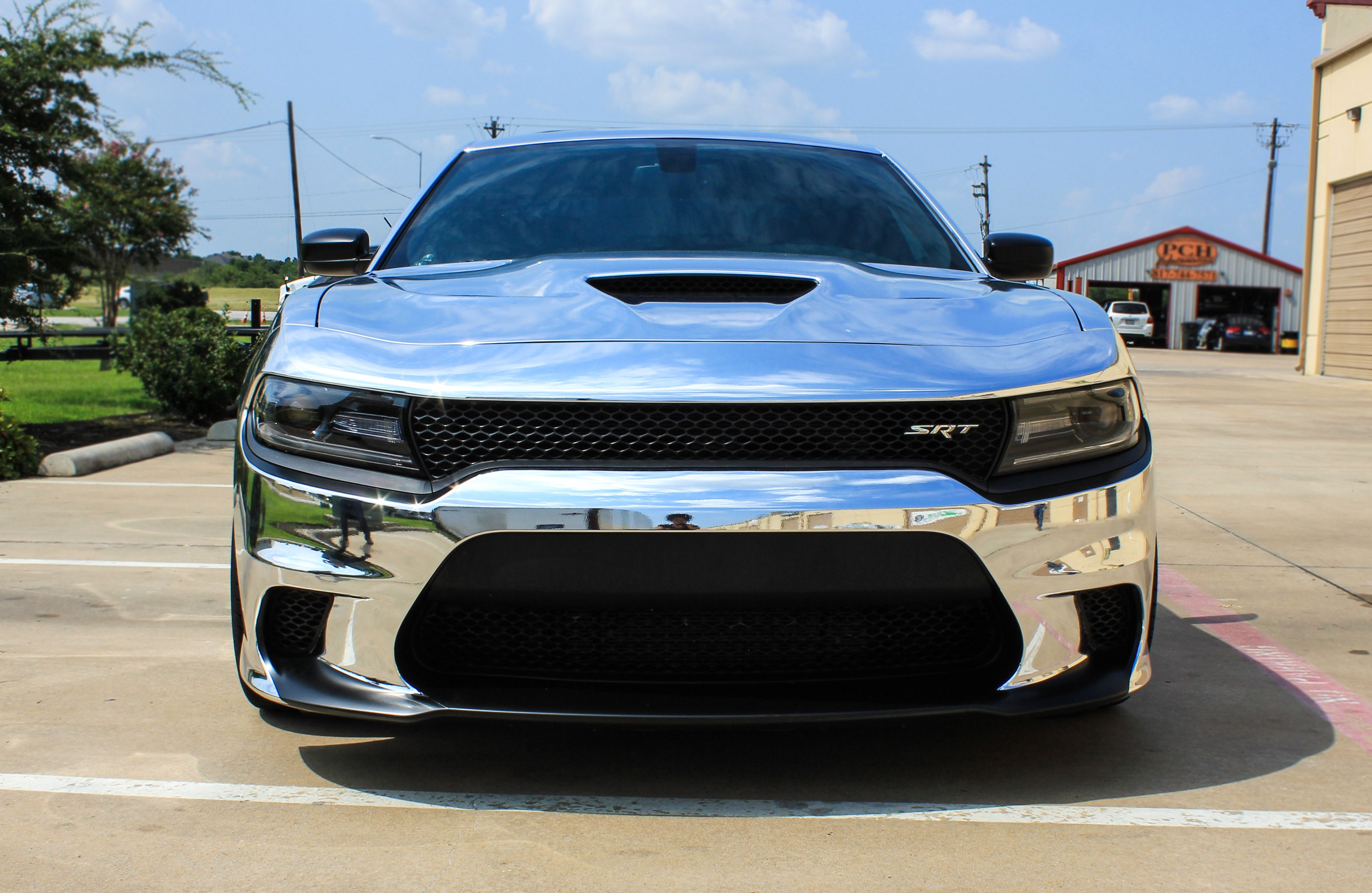 Chrome Hellcat Charger Dodge Charger Muscle Cars Mustang Dodge Charger Hellcat