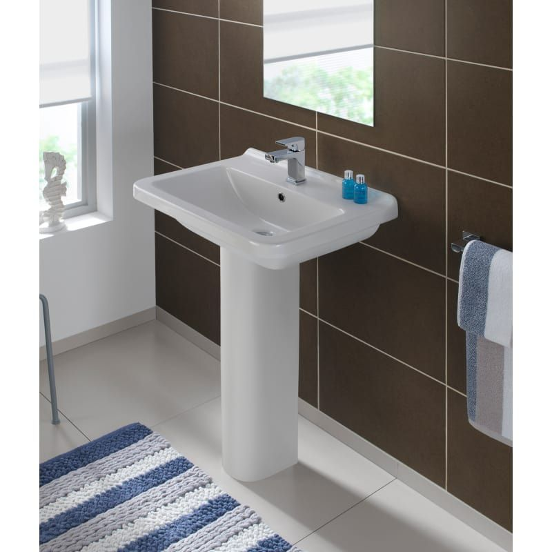 Bissonnet Erika 55 Pedestal In 2019 Corner Sink Bathroom Sink