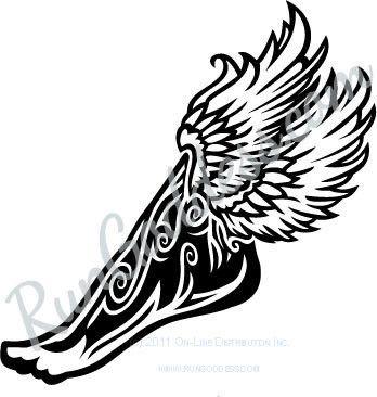 winged foot of mercury tat tat tatted up pinterest tattoo and tatting. Black Bedroom Furniture Sets. Home Design Ideas