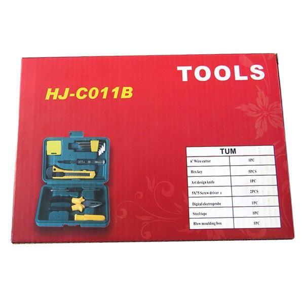 11Pcs Auto Car Truck Repair Tool Fix Maintain Set Emergency Kits Tools Kit Universal