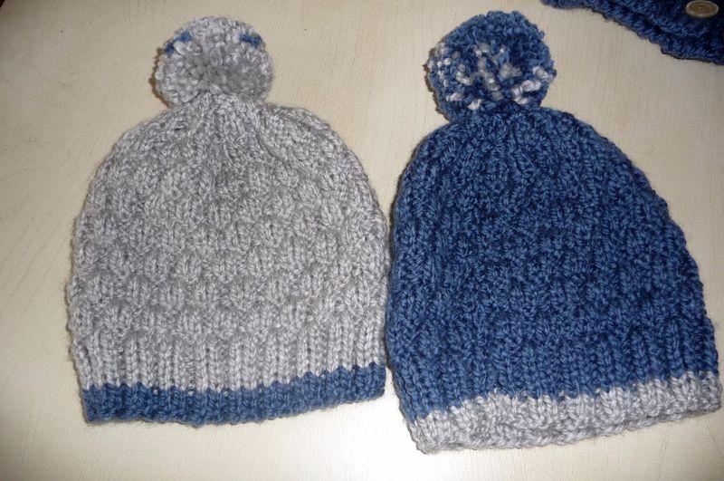 Belle Un nouveau bonnet pour garçon - La Malle aux Mille Mailles MZ-32
