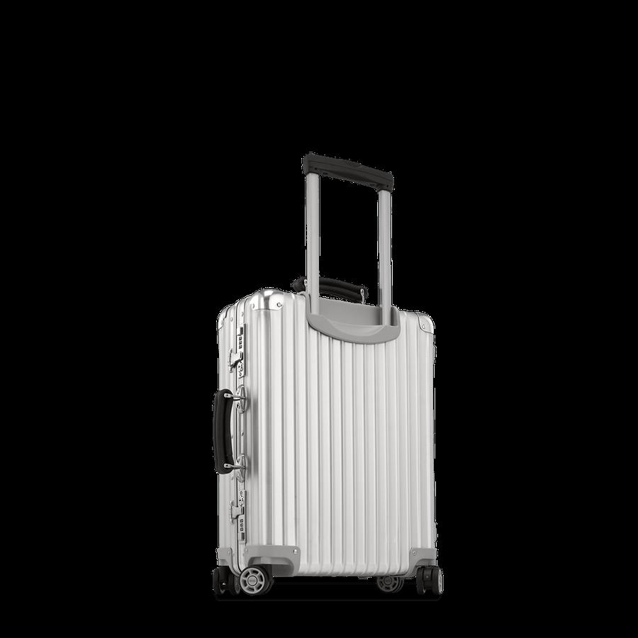 Rimowa Classic Flight Cabin Multiwheel 33 0l Silver Carry On Luggage Rimowa Carry On Luggage Classic