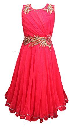 95e8ab051999 Vibrant dress gown for girls of age of 3 to 17 Years  Amazon.in ...