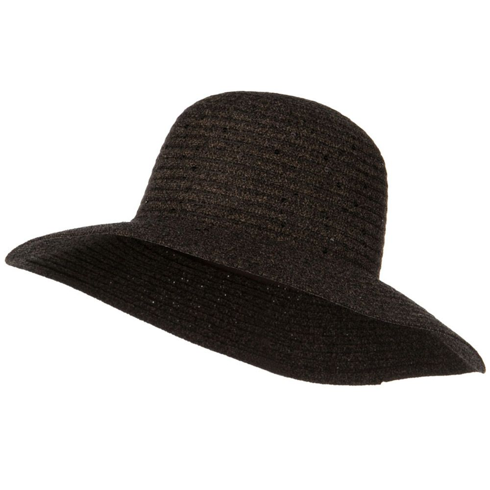 b87f7ef932652 Chenille Hat with Sequins - Brown