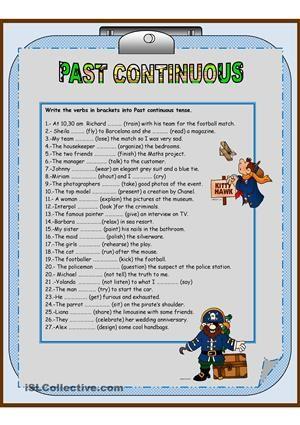 Past Continuous Tense Actividades Para Adolescentes Educacion Ingles Pasado Continuo
