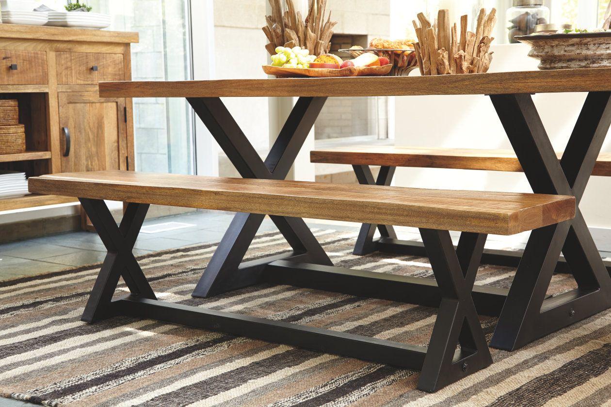 Wesling Dining Room Bench Ashley Furniture Homestore Home