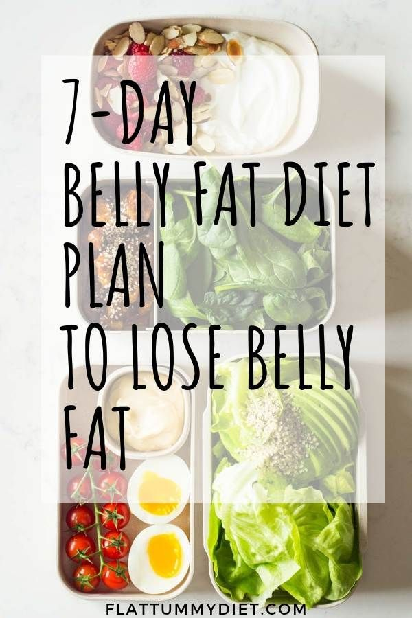 How to Lose Belly Fat In 1 Week: 7-Day Belly Fat Diet Plan -   15 diet Food for men ideas