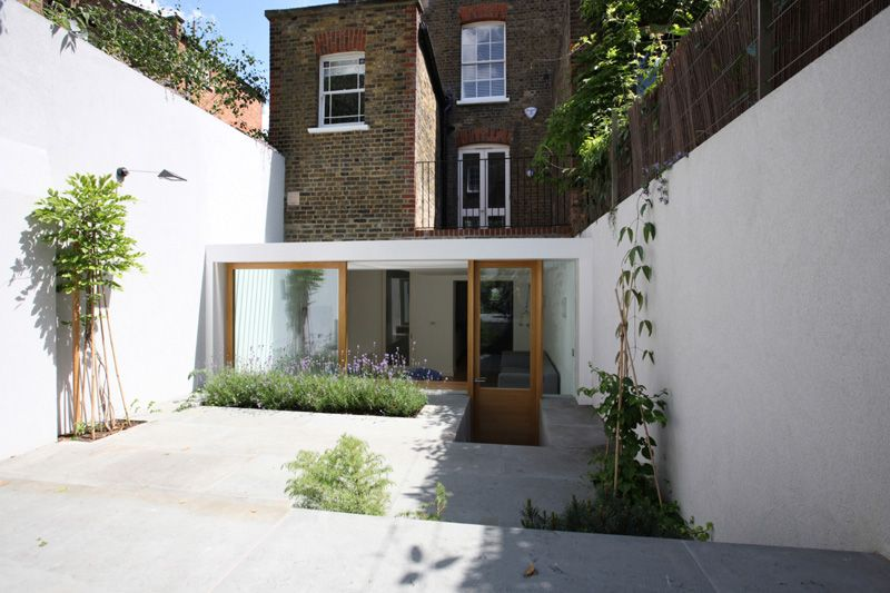 Contemporary Extension by Tamir Addadi - Terrace House front ...